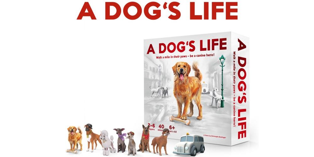 Kickstarter Tabletop Alert: 'A Dog's Life' Is a Fetching Game