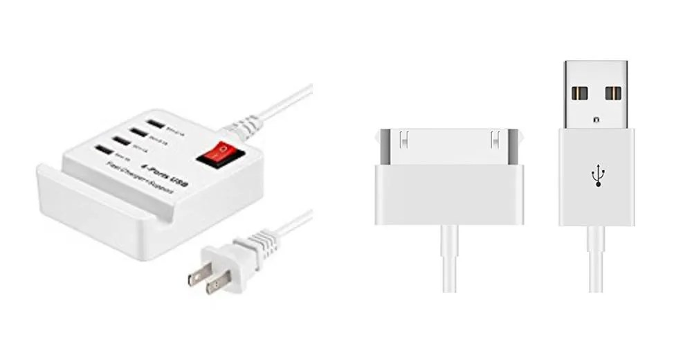 Geek Daily Deals 082017 usb charger 30-pin cables