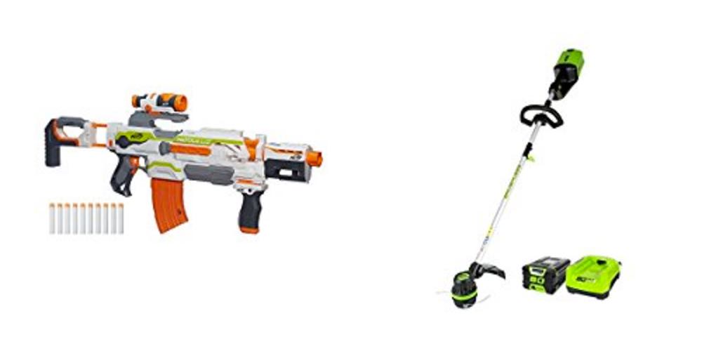 Geek Daily Deals NERF GreenWorks