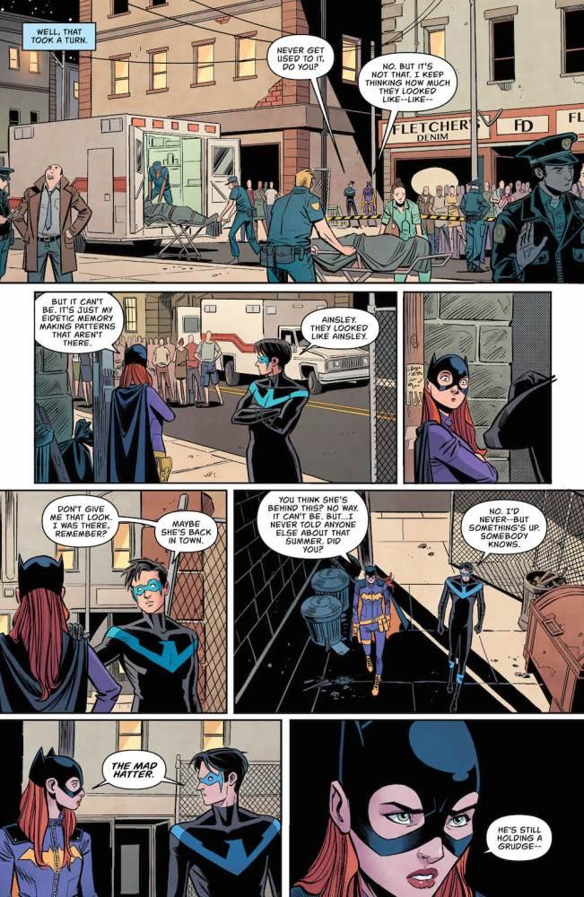 Batgirl, Nightwing, Babs Gordon, Dick Grayson