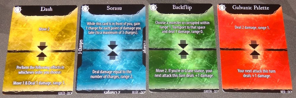 Champions of Hara Oric's starting cards