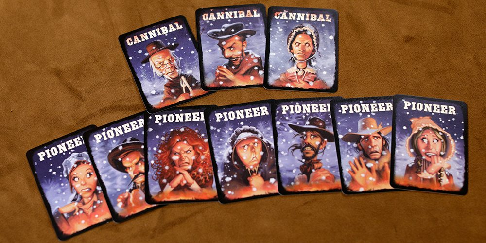 Amazing Dinner Party Game Part - 7: Thereu0027s Not A Lot To Donner Dinner Party. Itu0027s A Small Box Game, But Whatu0027s  There Shows A Lot Of Thought In Its Design And Artwork.