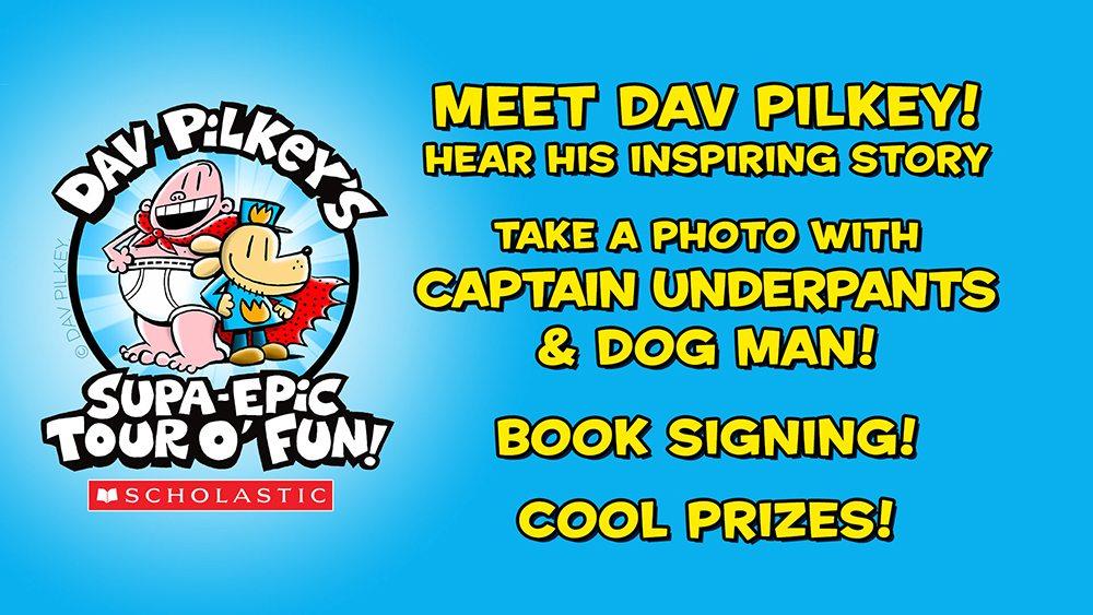 Dav Pilkey's Supa Epic Tour O'Fun
