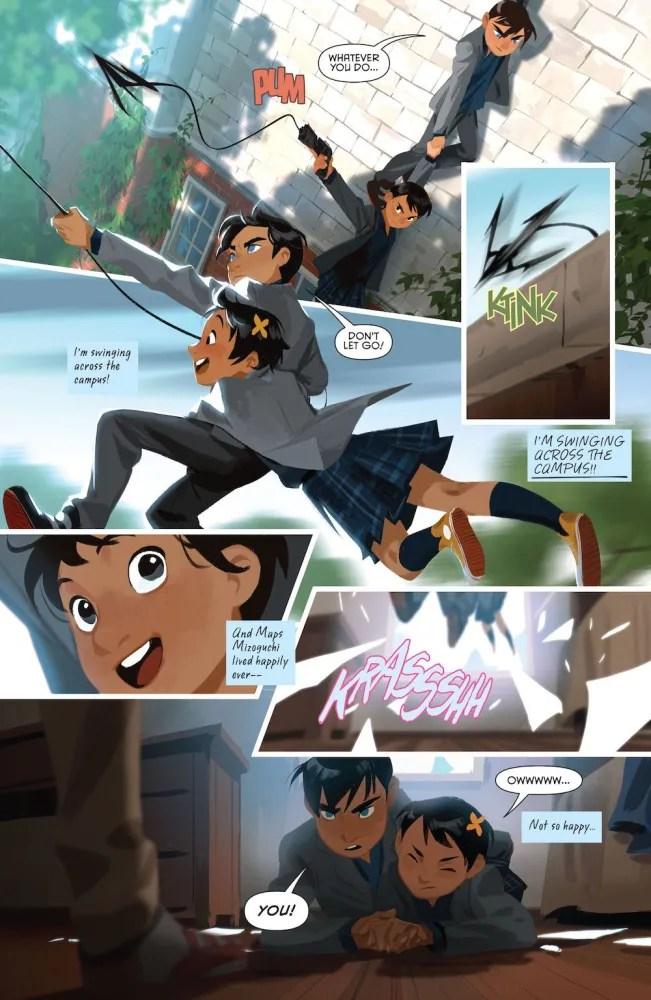 Images via DC Comics, Gotham Academy, Damian and Maps