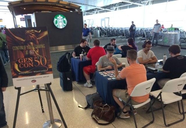 Gen Con airport gaming