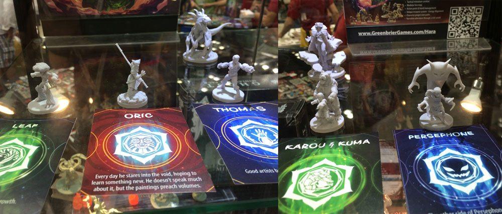Champions of Hara miniatures