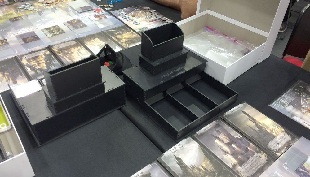 Edge of Darkness cube tower