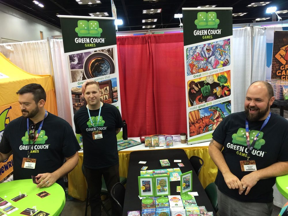 Gen Con Green Couch Games