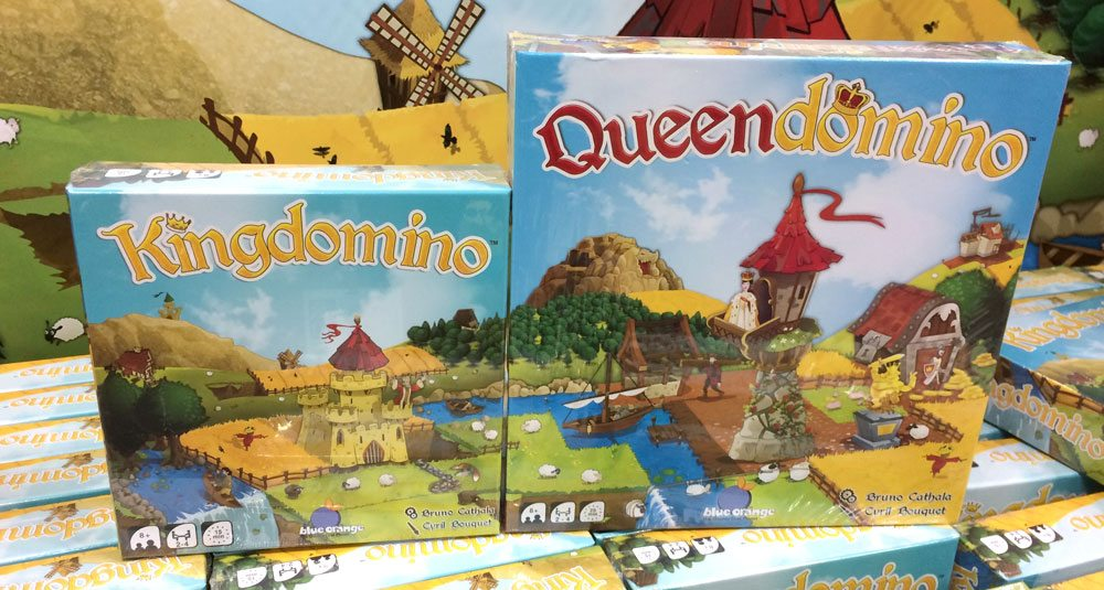 Kingdomino and Queendomino