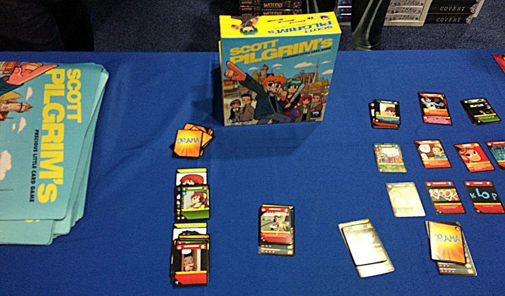 Scott Pilgrim card game