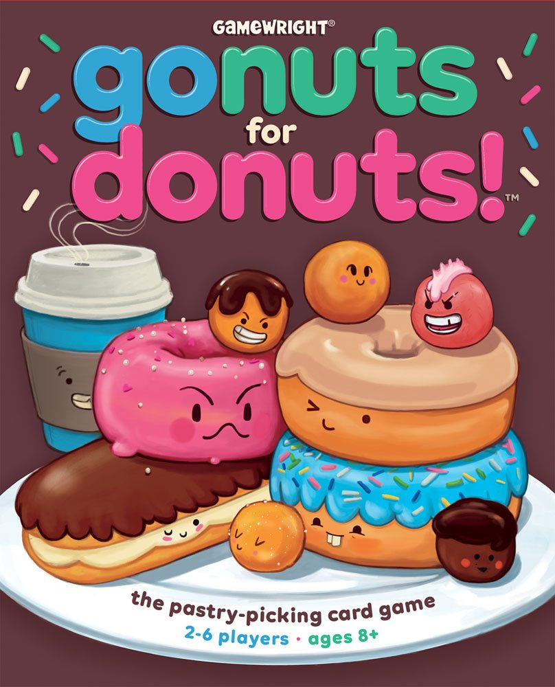 Go Nuts for Donuts cover