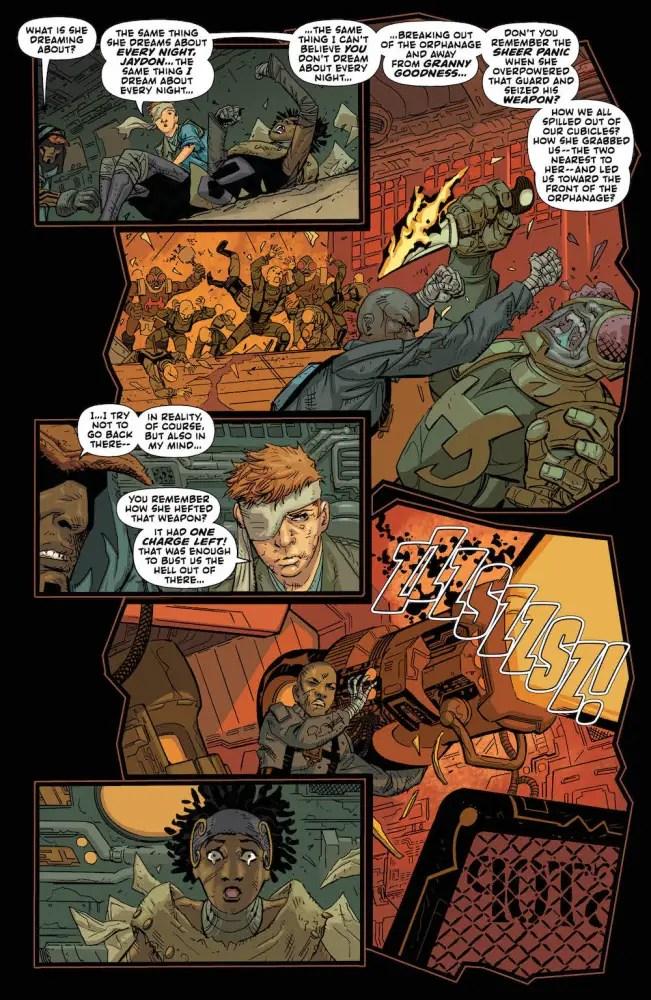 Darkseid special, Jack Kirby