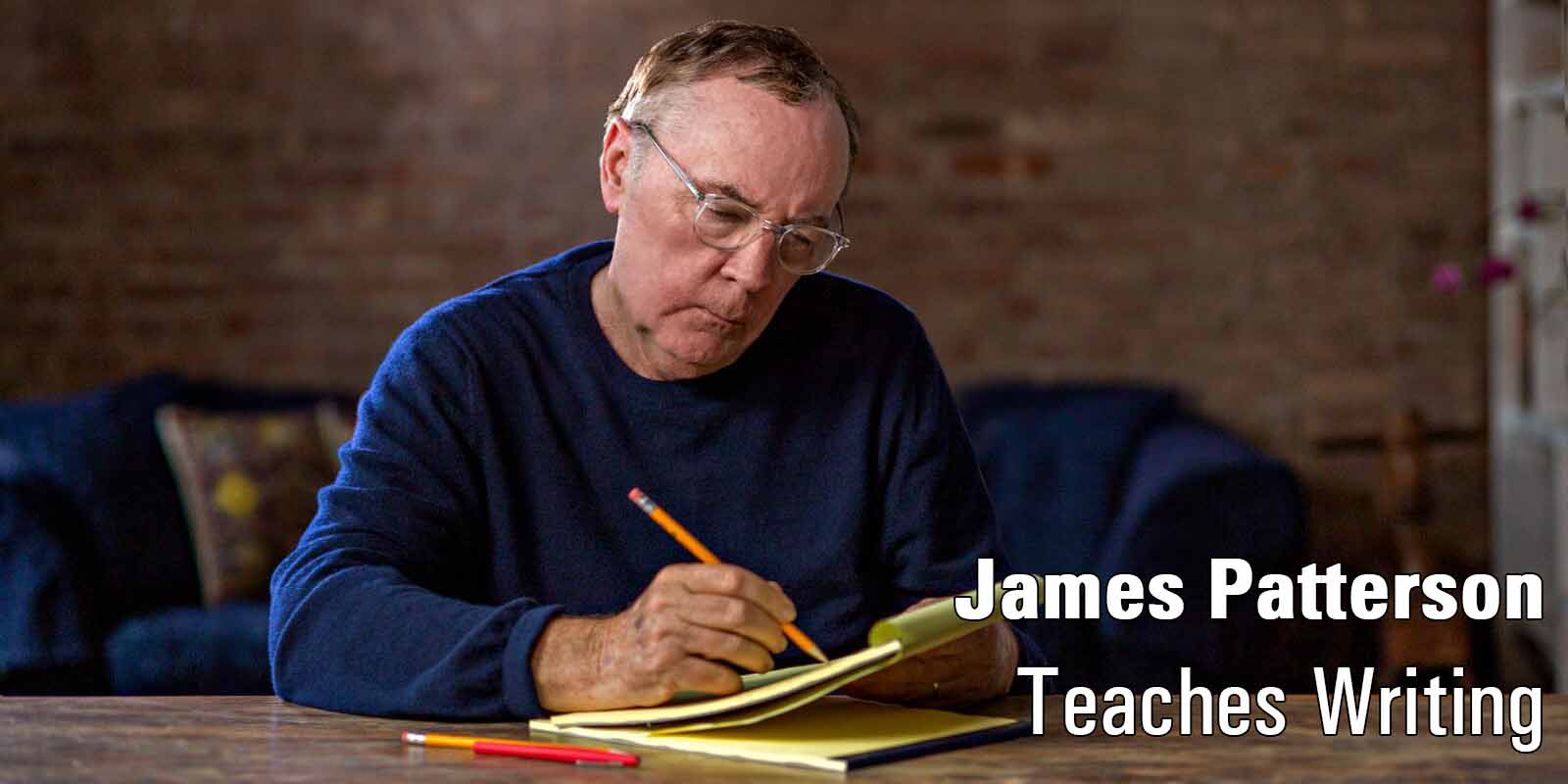 James Patterson Master Class \ Image: Master Class