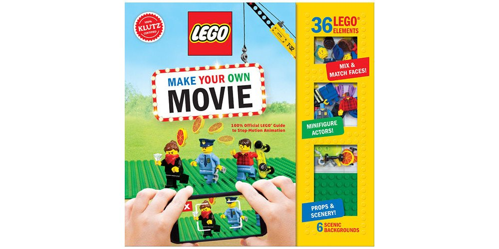 Movies + LEGO = Stop Motion Fun With Klutz's 'LEGO Make Your Own Movie'