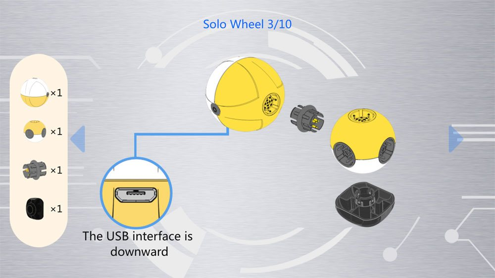 Mabot Solo Wheel assembly instructions