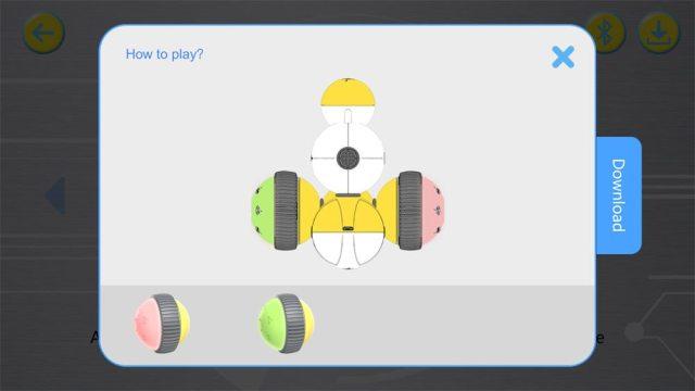 Mabot app calibration