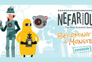 Nefarious: Becoming a Monster