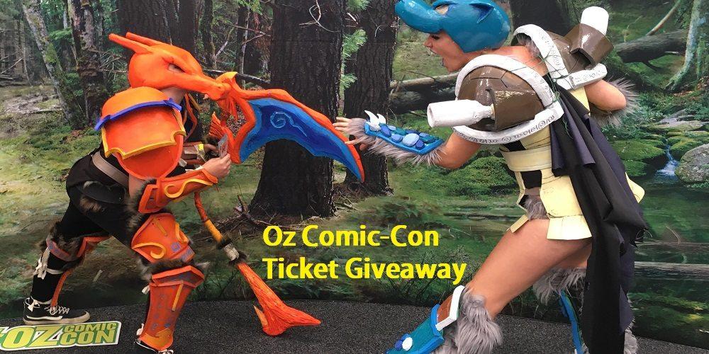 OZ Comic-Con Ticket Giveaway 2017