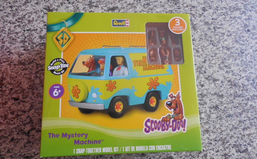 Zoinks! It's The Revell Mystery Machine Model Kit