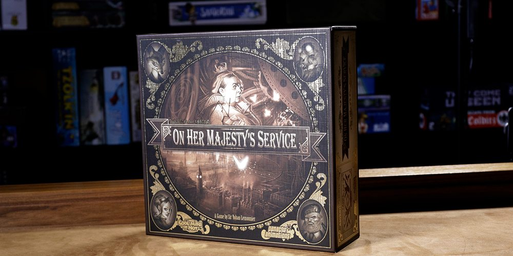 Queen Victoria Requires Your Assistance in 'The World of Smog: On Her Majesty's Service'