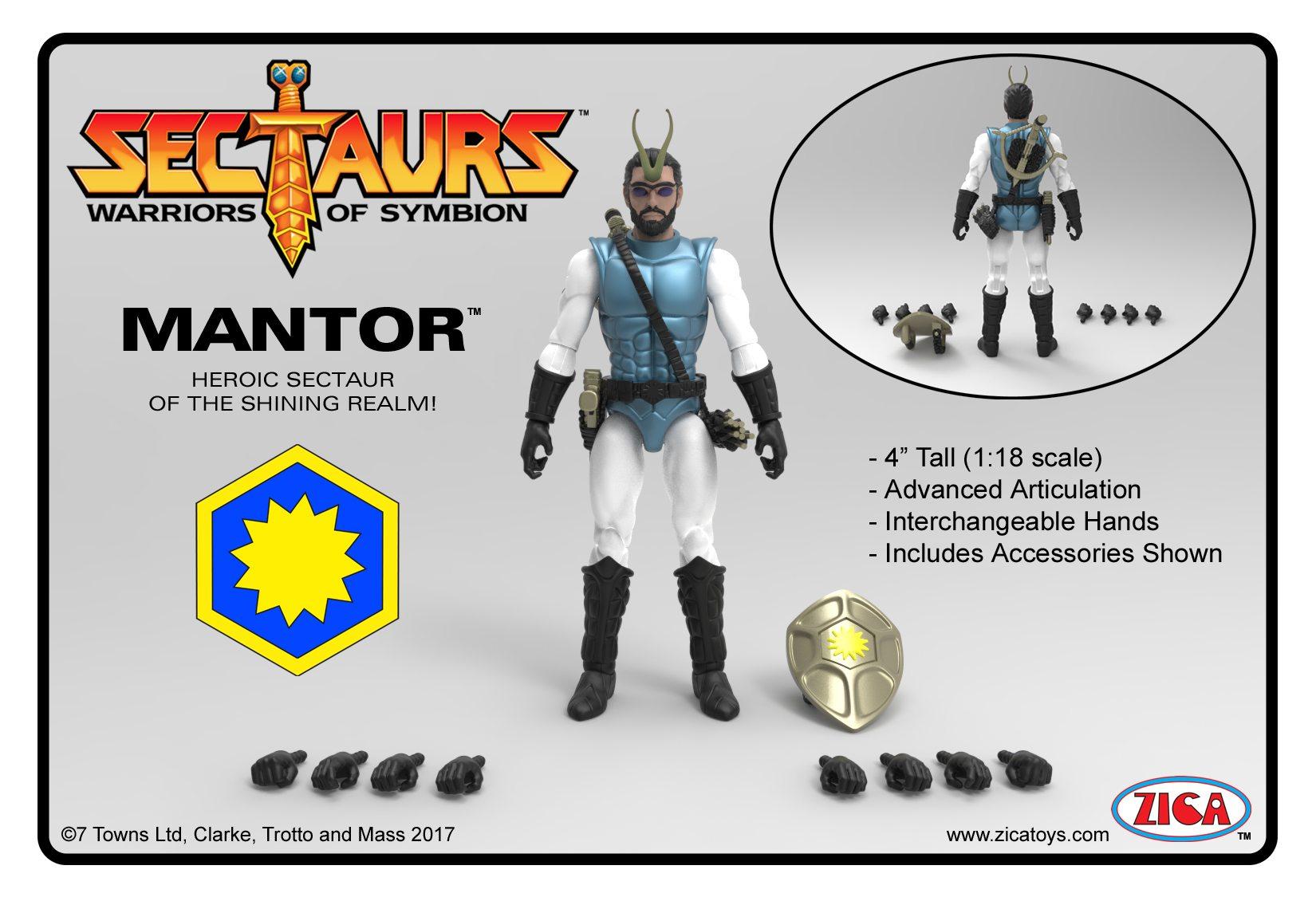Kickstarter Alert: 'Sectaurs' New Figure Reveal