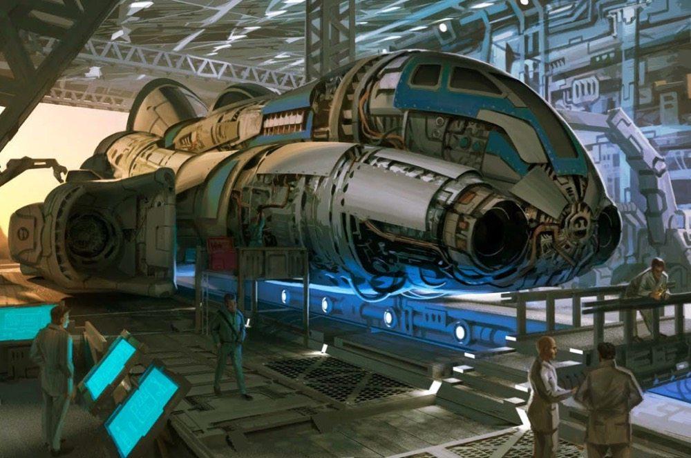 Starfinder starship