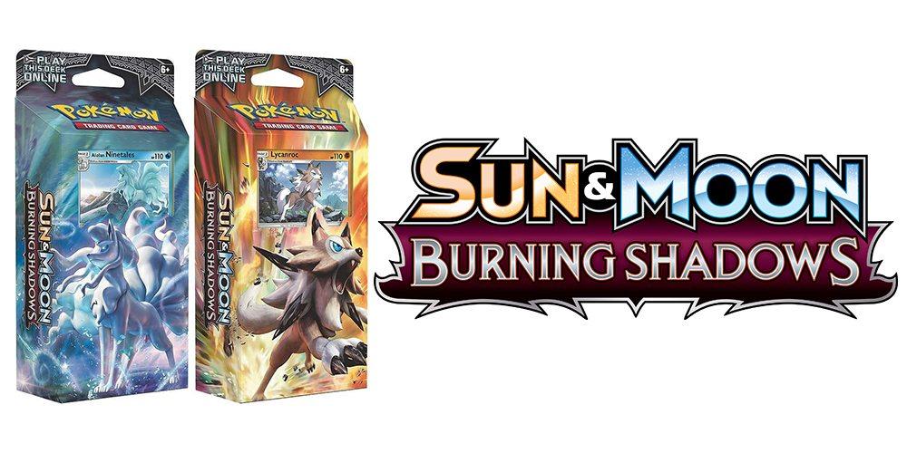 Things Heat Up in 'Pokémon TCG: Sun & Moon—Burning Shadows'