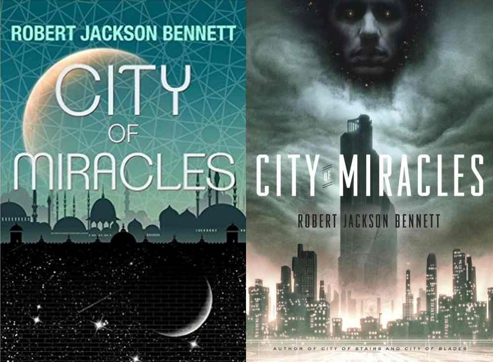 City of Miracles UK and US covers
