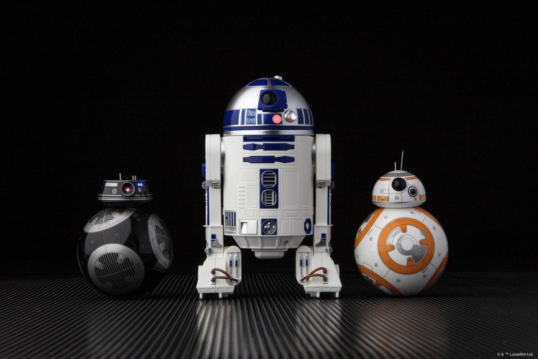 BB-9E and R2-D2 Join BB-8 as Sphero Star Wars Droids