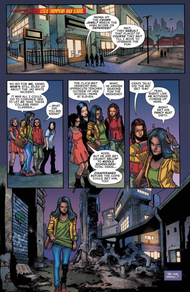 Nissa, Batwoman Beyond