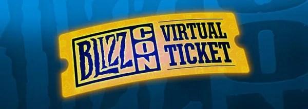 BlizzCon 2017 Virtual Ticket splash