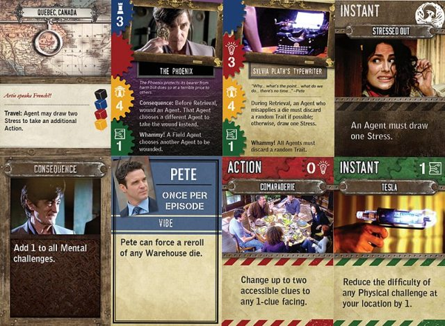 A selection of cards from the game, Image Infinite Dreams Gaming