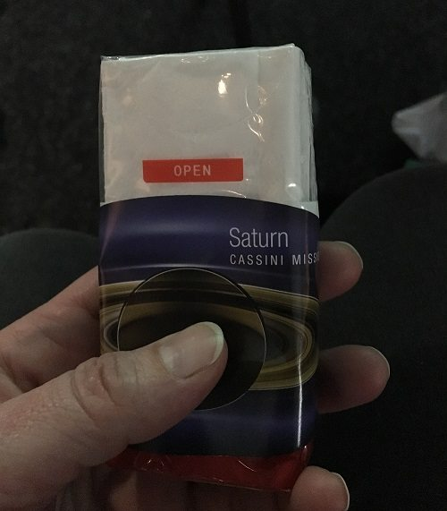 tissues for Cassini
