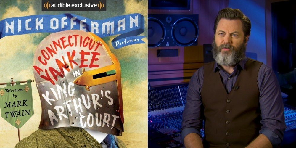 Nick Offerman Tangles with Twain and Narrates the Original Time Travel Story