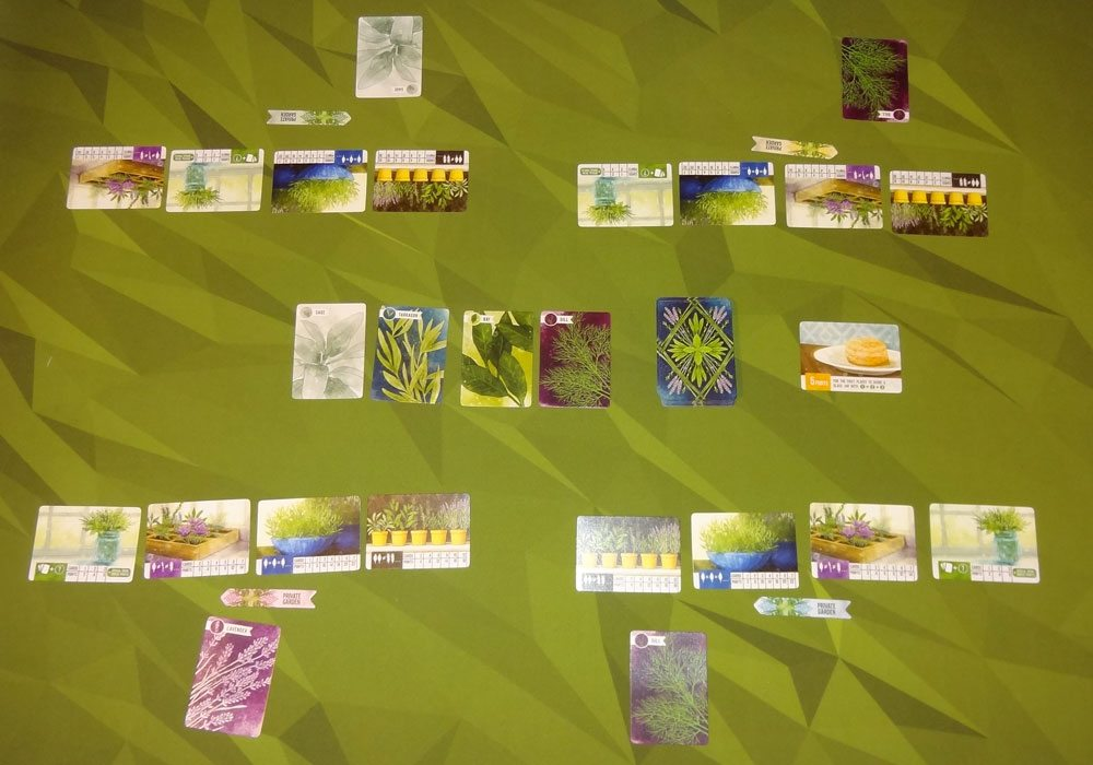 Herbaceous 4-player game