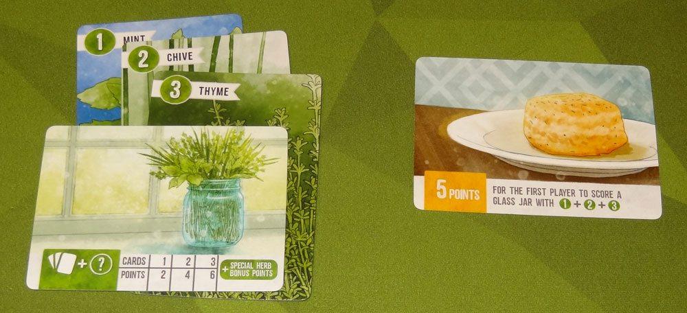 Herbaceous bun card