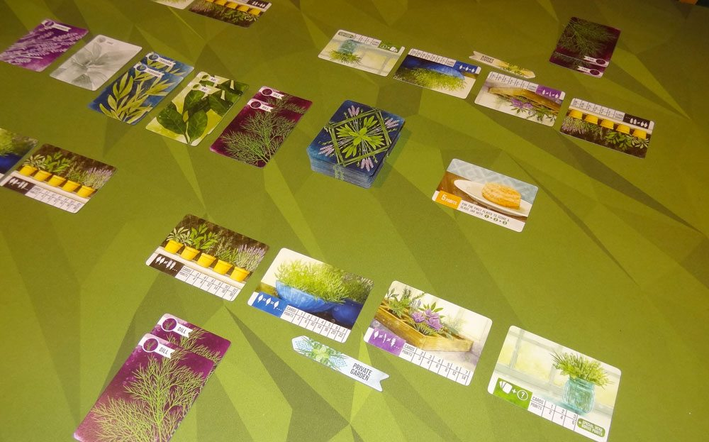 Herbaceous game in progress
