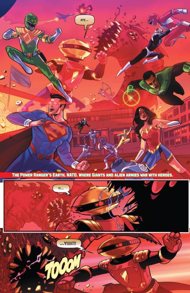 Justice League, Power Rangers 2017