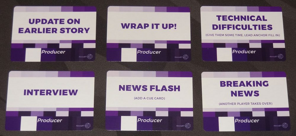 News @ 11 producer cards