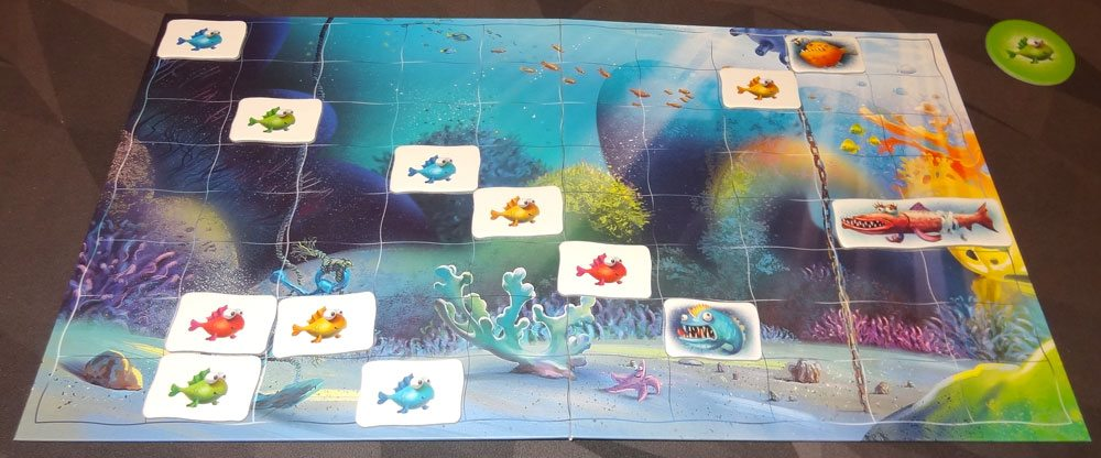 Reef Route game in progress