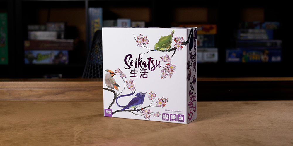 'Seikatsu' Is a Lovely and Peaceful Abstract Strategy Game