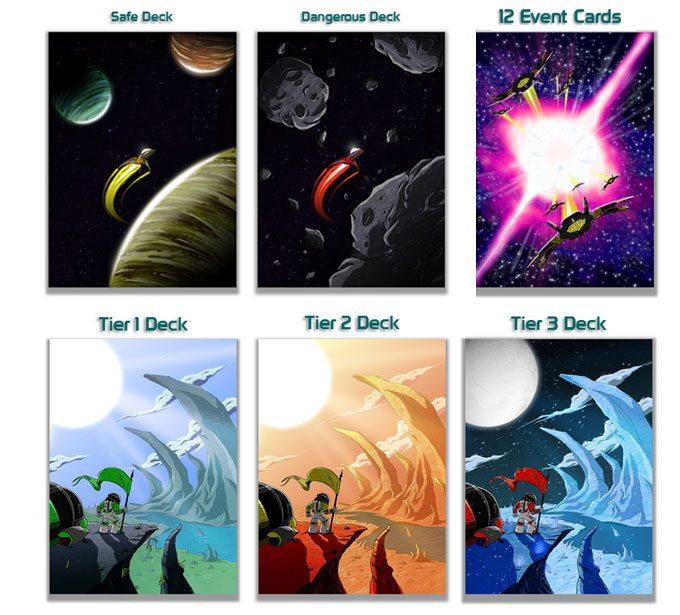 Stellar Leap card backs