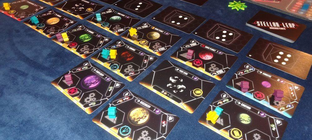 Stellar Leap game in progress