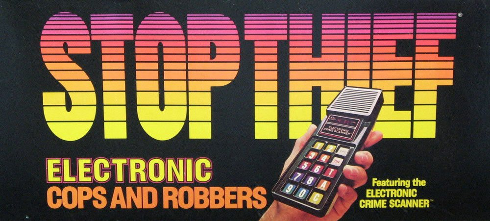 Stop Thief 1979 cover
