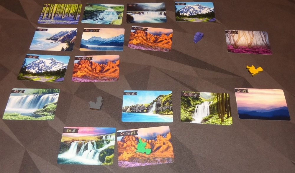 Sunset Over Water game in progress