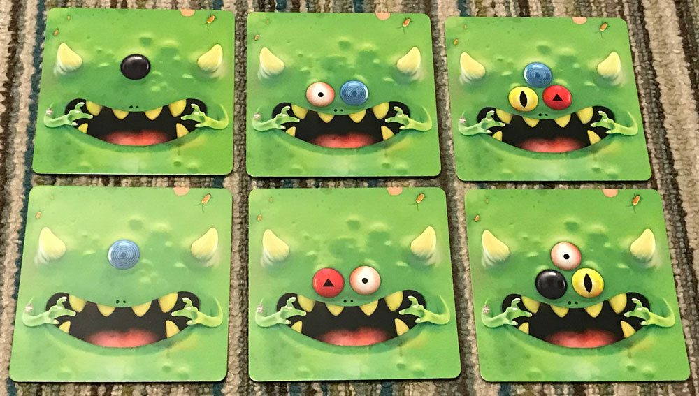 TerrorEyes Eye cards