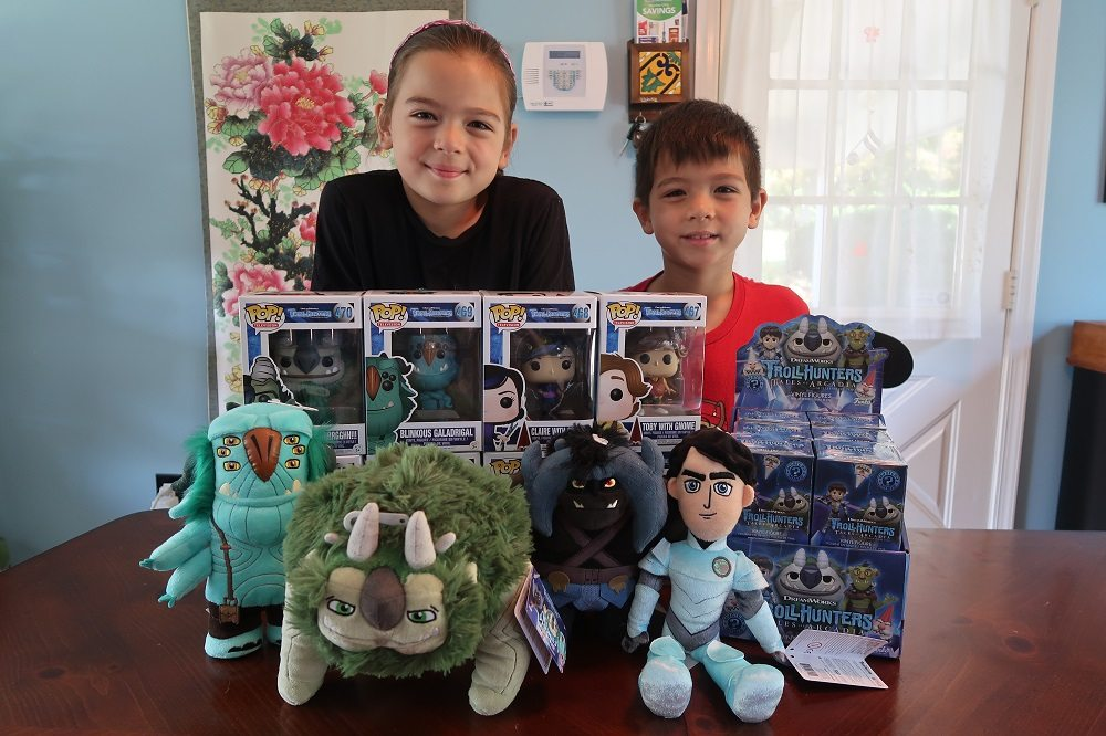 The Rumpus Room: Funko 'Trollhunters' Mega Unboxing