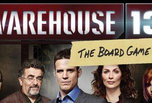 Warehouse 13: The Board Game, Image: Infinite Dreams Gaming