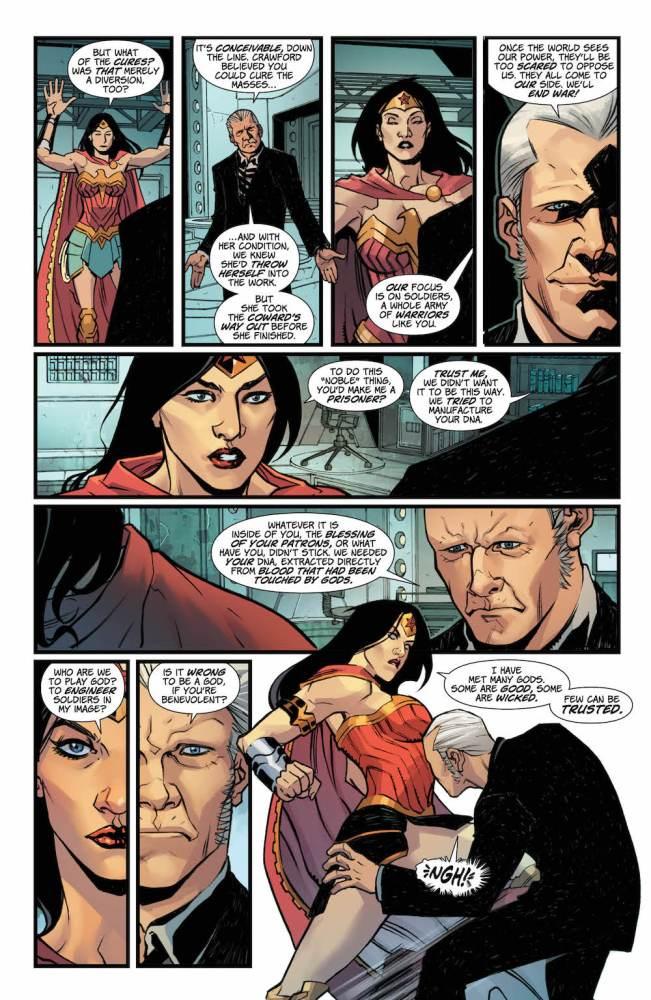 Fontana, Wonder Woman 2017