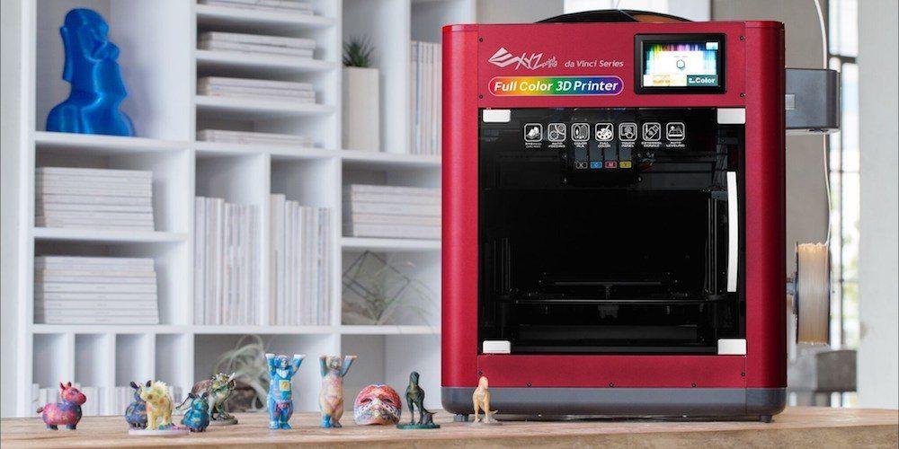 Finally, Full-Color 3D printing… da Vinci Color